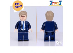 [Pre-order deposit] Minfinity Bricks MF119 Minifigures: Leader Johnson_ figure _MM010H