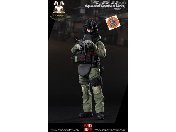 [Pre-order] Modeling Toys 1/6 MMS9004 Special Duties Unit_ Box Set _SDU ZZ103D