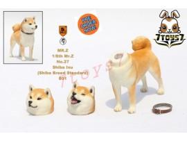[Pre-order] Mr. Z 1/6 MRZ027 Real Animal Series No.27 Japanese shiba Inu_ 001 Dog w/ collar Set _MRZ022A
