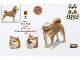[Pre-order] Mr. Z 1/6 MRZ027 Real Animal Series No.27 Japanese shiba Inu_ 002 Dog w/ collar Set _MRZ022B