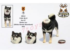 Mr. Z 1/6 MRZ027 Real Animal Series No.27 Japanese shiba Inu_ 003 Dog w/ collar Set _MRZ022C