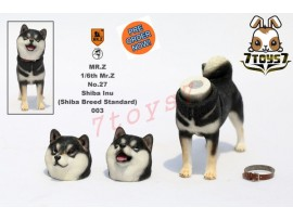 [Pre-order] Mr. Z 1/6 MRZ027 Real Animal Series No.27 Japanese shiba Inu_ 003 Dog w/ collar Set _MRZ022C