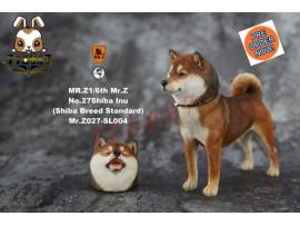 [Pre-order] Mr. Z 1/6 MRZ027 Real Animal Series No.27 Japanese shiba Inu_ 004 Dog w/ collar Set _MRZ026A