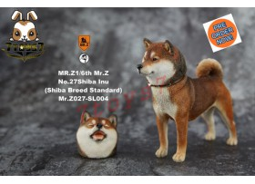 [Pre-order] Mr. Z 1/6 MRZ027 Real Animal Series No.27 Japanese shiba Inu_ 004 Dog w/ collar Set _MRZ026A