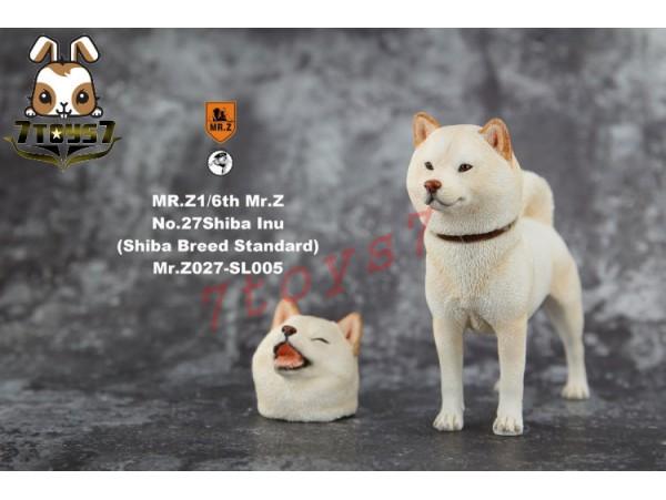 Mr. Z 1/6 MRZ027 Real Animal Series No.27 Japanese shiba Inu_ 005 Dog w/ collar Set _MRZ026B