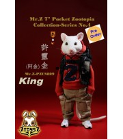 "[Pre-order deposit] Mr. Z 1/6 7"" Pocket Zootopia S4: Potato_ Box Set _MRZ047A"