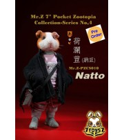 "[Pre-order deposit] Mr. Z 1/6 7"" Pocket Zootopia S4: Nattto_ Box Set _MRZ047B"