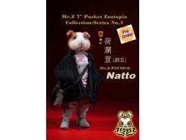 "[Pre-order deposit] Mr. Z 1/6 7"" Pocket Zootopia S4: Nattto_ Box Set _MRZ047B"