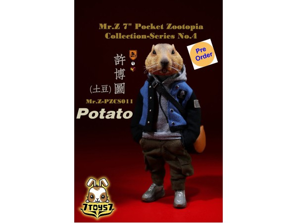 "[Pre-order deposit] Mr. Z 1/6 7"" Pocket Zootopia S4: Potato_ Box Set _MRZ047C"