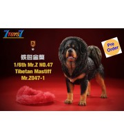 [Pre-order deposit] Mr. Z 1/6 MRZ047 Animal Series No.47 Tibetan Mastiff_ Set #1 _MRZ051A