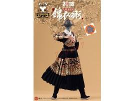 [Pre-order] O-Soul 1/6 King's Warrior Female Suit_ Black Set w/ Sword _SE021X