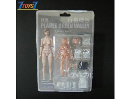 Planet Green Valley 1/18 Female Body_ Figure and Costume Set _OU003A