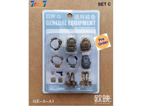 [Pre-order deposit] Planet Green Valley 1/18 General Equipment Set_ Set C _Ouying Studio OU005X