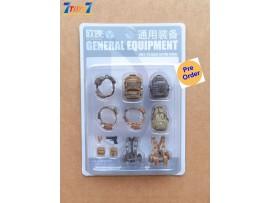 [Pre-order deposit] Planet Green Valley 1/18 General Equipment Set_ Green Set _Ouying Studio OU005Y