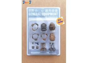 [Pre-order deposit] Planet Green Valley 1/18 General Equipment Set_ Sand Set _Ouying Studio OU005Z