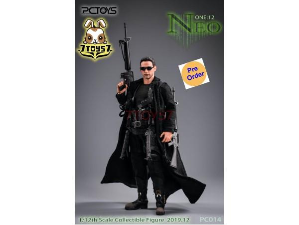 [Pre-order deposit] PCToys 1/12 PC014 The Hacker Killer: Neo_ Box Set _ZZ185Q