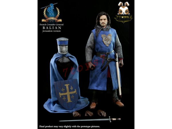 Pangaea 1/6 PG04B French Crusader General - Balian_ Box Jerusalem Ver_Now PG003Y