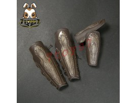 Pangaea 1/6 Greek General_ Gauntlets + Greave_TROY Brad Ancient Achilles PG001ZE