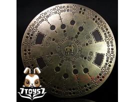 Pangaea 1/6 PG03 Trojan General_ Shield _Troy Hector Greek Hoplite Toy PG005H