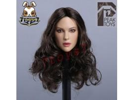 Peak Toys 1/6 PT005 Europe-American Female_ Head _no original box Now ZZ108E