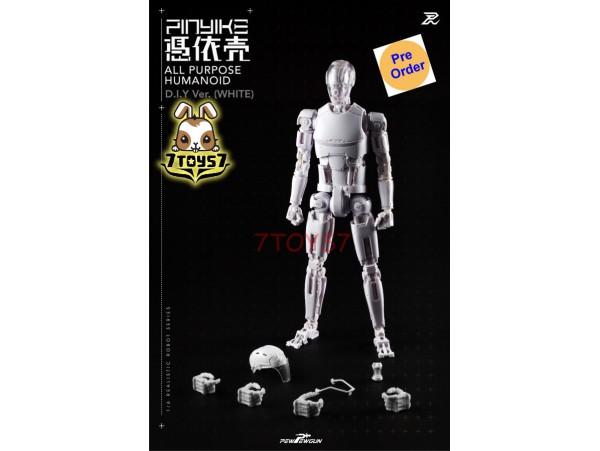 [Pre-order] PEWPEWGUN 1/6 White Robotic Nude Body Pinyike DIY_ Set _PW005Y