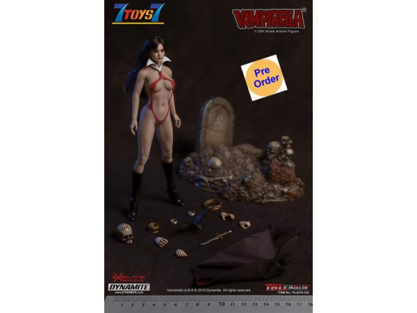 [Pre-order deposit] TBLeague Phicen 1/12 Vampirella_ Box Set _PC132Z
