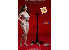 [Pre-order deposit] TBLeague Phicen 1/6 S38 Female Super-Flexible Seamless Pale Large-Breast Body w Head_ Set _PC133A