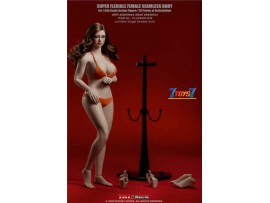 TBLeague Phicen 1/6 S39 Female Super-Flexible Seamless Suntan Large-Breast Body w Head_ Set _PC134A