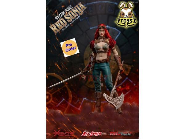 [Pre-order] TBLeague Phicen 1/6 PL2019-140A Steam Punk Red Sonja_ Classic Box Set _PC106Z