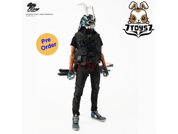 [Pre-order] Playdraw 1/6 Street Warrior #2 Skull A_ Box Set _PLD005Z