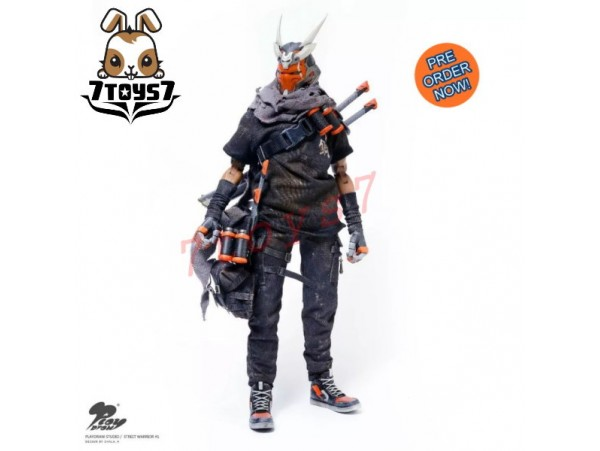 [Pre-order] Playdraw 1/6 Street Warrior_ Box Set _PLD001Z