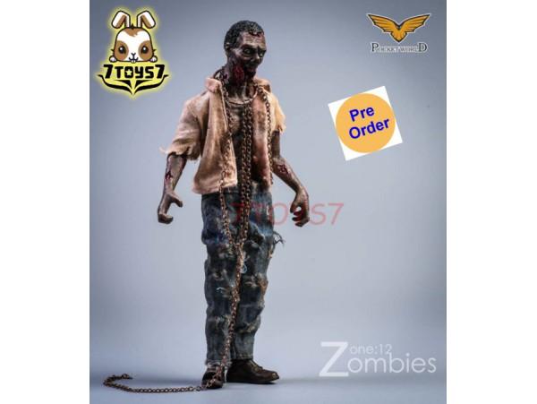 [Pre-order deposit] Pocket World 1/12 PW2012A Zombies #A_ Set _PKW001A