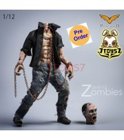 [Pre-order deposit] Pocket World 1/12 PW2012E Zombies #E_ Set _PKW001E