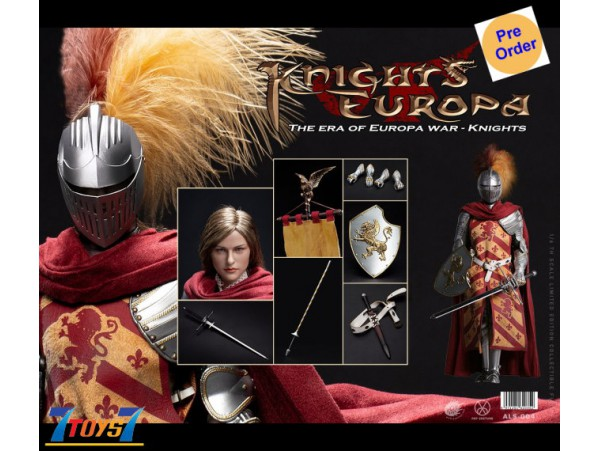 [Pre-order deposit] Pop Toys 1/6 ALS004 Armor Legend Series - The Era of Europa War Griffin Knight_ Box Set _PT110A