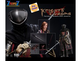 [Pre-order deposit] Pop Toys 1/6 ALS005 Armor Legend Series - The Era of Europa War Dragon Knight_ Box Set _PT110B