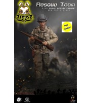 [Pre-order deposit] Pop Toys 1/12 CMS001 WWII US Rescue Squad - Sniper_ Box Set _PT108A
