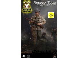 [Pre-order deposit] Pop Toys 1/12 CMS001 WWII US Rescue Squad - Sniper_ Box Set _PT108A