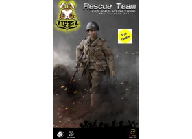 [Pre-order deposit] Pop Toys 1/12 CMS002 WWII US Rescue Squad - Captain_ Box Set _PT108B