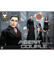 [Pre-order] PopToys 1/6 EX018 Agents Couple - Mrs. Smith_ Stealth Version Box Set _PT077Z