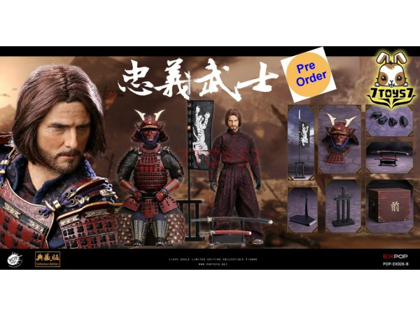 [Pre-order] PopToys 1/6 EX026B Devoted Samurai - Deluxe version_ Box Set _PT096Y