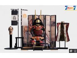 PopToys 1/6 EX029 Ishida Mitsunari Red armor and accessories_ Box Set _PT112Z