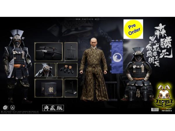 [Pre-order deposit] PopToys 1/6 EX030B Benevolent Samurai_ Deluxe Box Set _PT111B