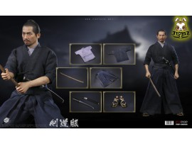 PopToys 1/6 EX033 Brave samurai - UJIO Kendo version_ Box Set _PT117B