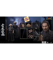 [Pre-order deposit] Pop Toys 1/6 EX037 Miyamoto Musashi_ Box Set _Japanese Warrior Master PT130Z