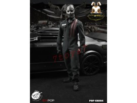 PopToys 1/6 Death Race Driver - Frankenstein_ Box Set _Movie Jason Now PT042Z