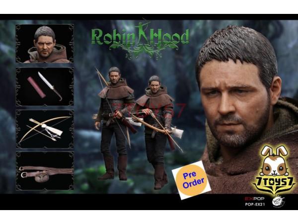 [Pre-order] PopToys 1/6 EX21 Chivalrous Robin Hood_ Box Set _PT089Z