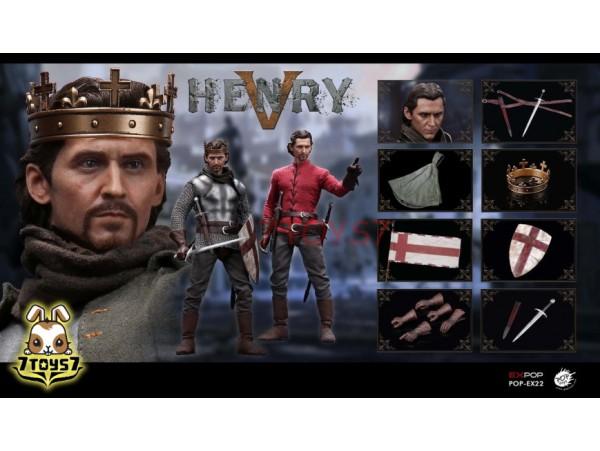 PopToys 1/6 EX22 King Henry V of England_ Box Set _PT090Z