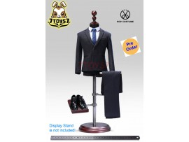 [Pre-order] PopToys 1/6 X28B Western-style clothes stripped suit_ Blue Set _PT087B