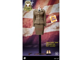[Pre-order] PopToys 1/6 X29 WWII US Army Female Agent Uniform_ Set _PT104Z