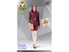 [Pre-order] PopToys 1/6 X29 Office Lady Suit Skirt Ver (Red)_ Set _PT097A